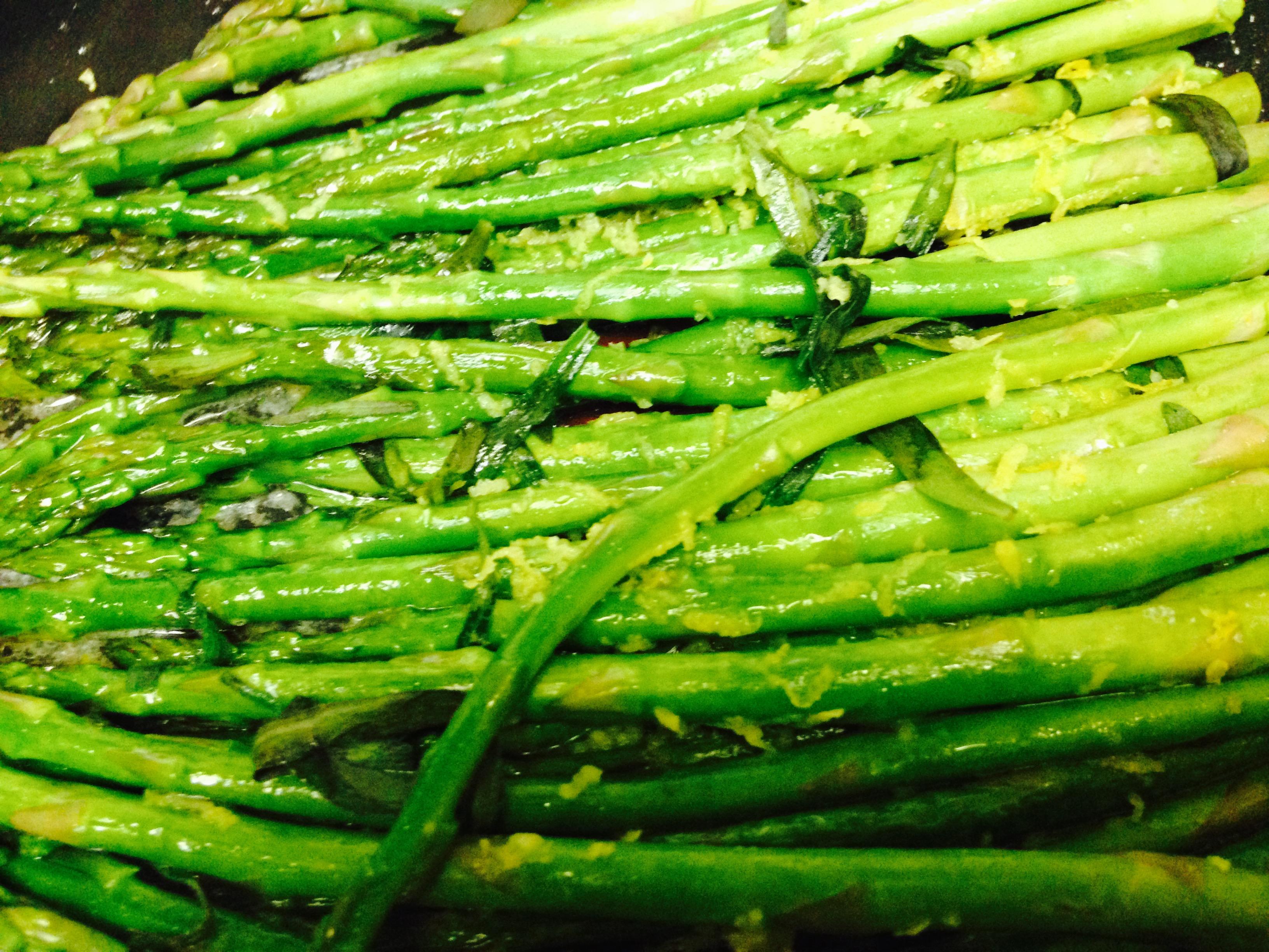 Lemon Tarragon Asparagus