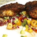 Spicy Middle Eastern Lingcod