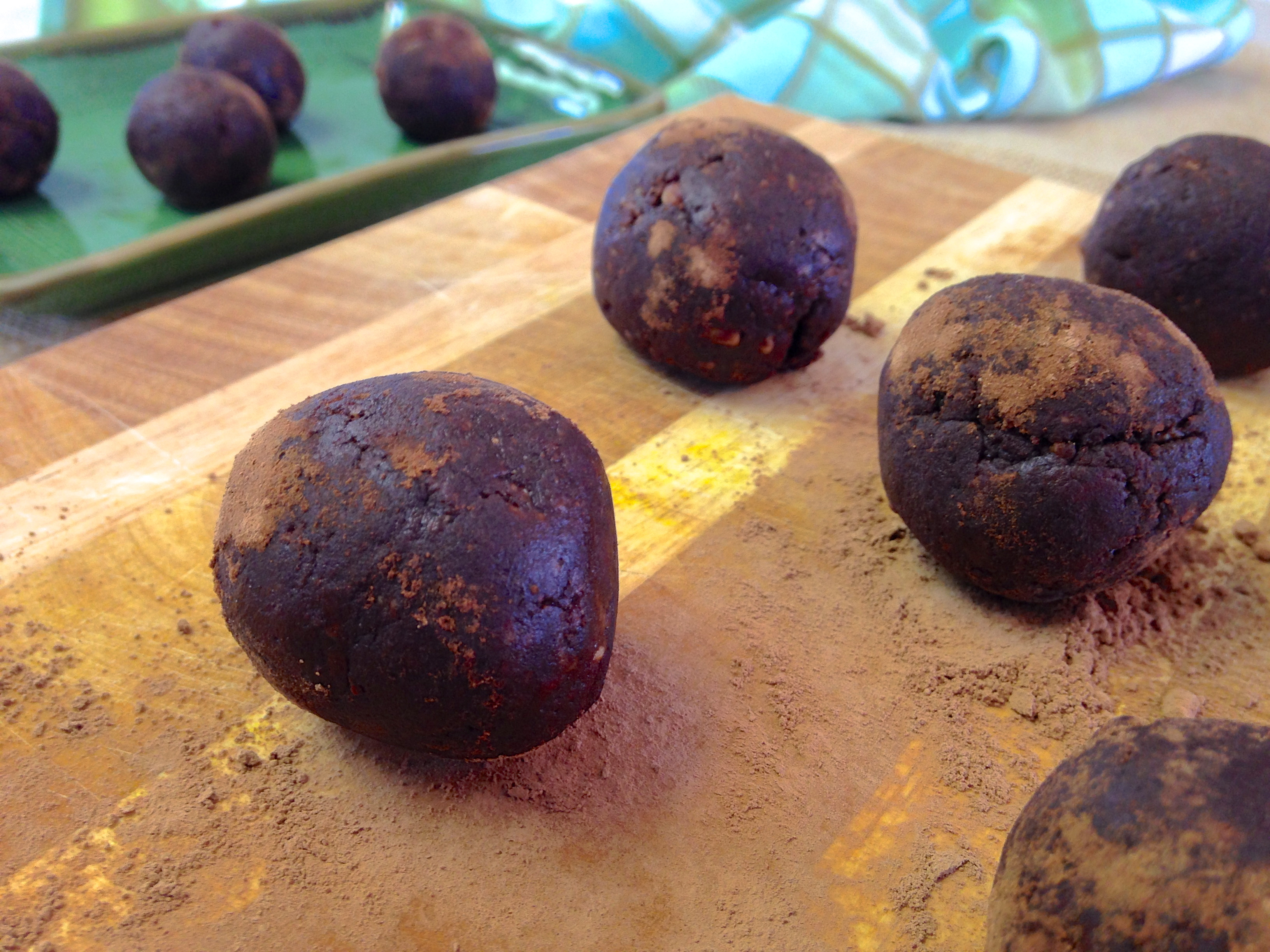 Maca Chocolate Truffles