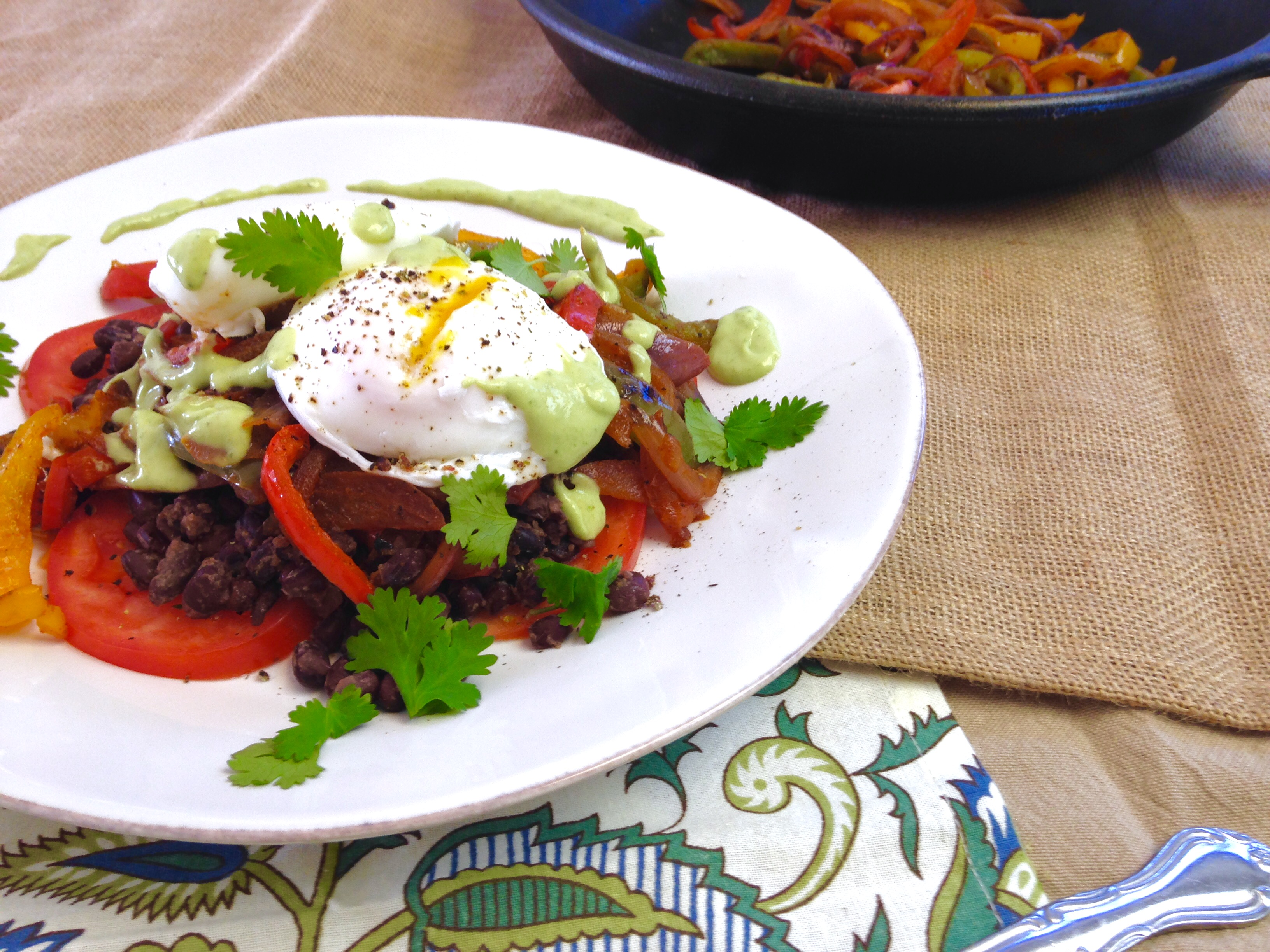 Mexican Poached Eggs