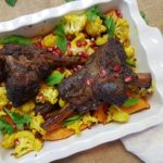 Moroccan Braised Lamb Shank