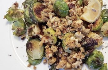 brussels and walnuts